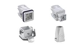 矩形工业连接器套件