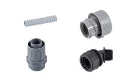 塑料电缆保护软管系统